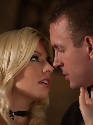 Elegance and class are in abundant supply in this scene. Watch Jessie and TJ's night of passion unfold.